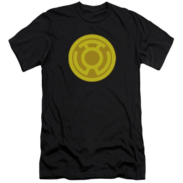 Green Lantern Yellow Symbol Premuim Canvas Adult Slim Fit