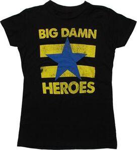 Firefly Big Damn Heroes Juniors T-Shirt