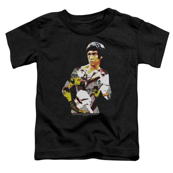 Bruce Lee Body Of Action Short Sleeve Toddler Tee Black Sm T-Shirt