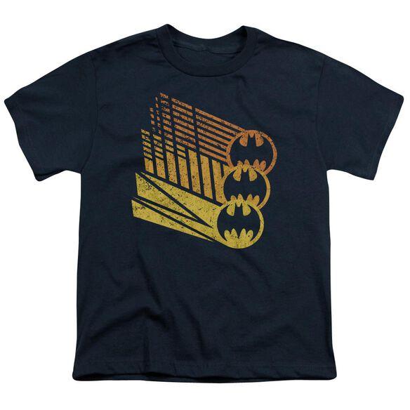 Batman Bat Signal Shapes Short Sleeve Youth T-Shirt