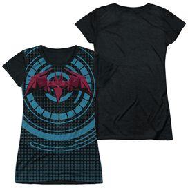 Batman Unlimited Bat Tech Short Sleeve Junior Poly Black Back T-Shirt