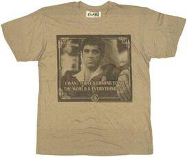 Scarface Want T-Shirt Sheer