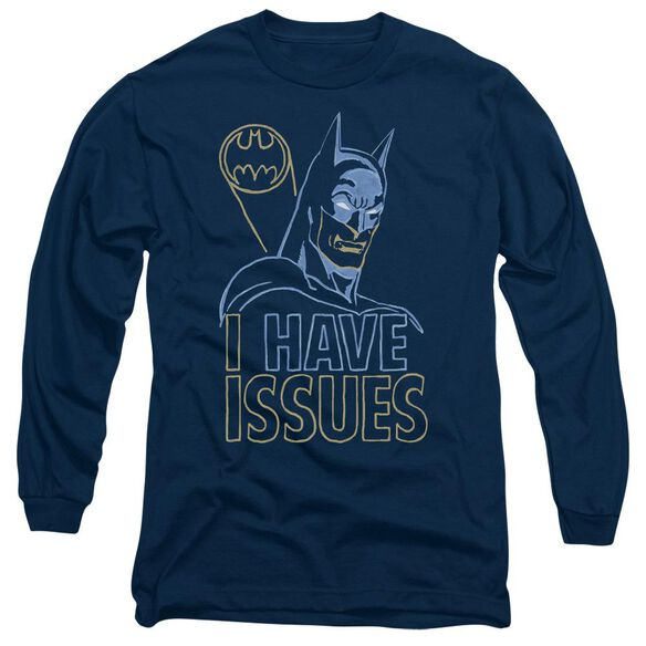 Dc Issues Long Sleeve Adult T-Shirt