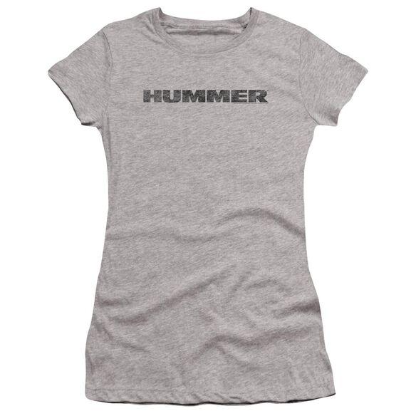 Hummer Distressed Hummer Logo Premium Bella Junior Sheer Jersey Athletic