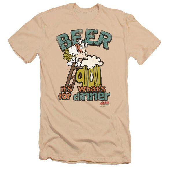 Hagar The Horrible Beer, Dinner Premuim Canvas Adult Slim Fit