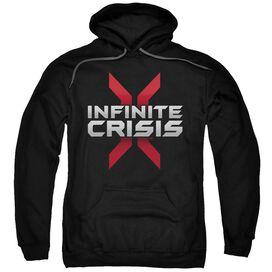 Infinite Crisis Logo Adult Pull Over Hoodie