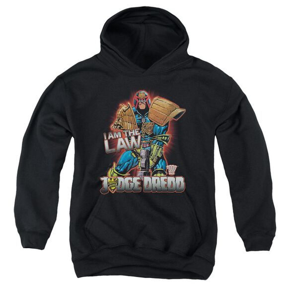 Judge Dredd Law Youth Pull Over Hoodie