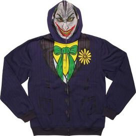 Joker Deluxe Suit Up Mask Hoodie
