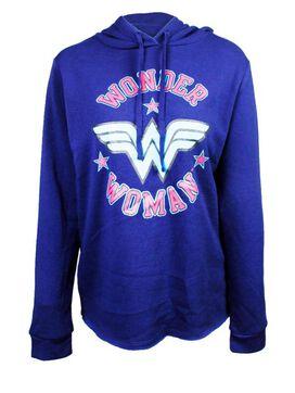 Wonder Woman Logo Star Set Women's Hoodie