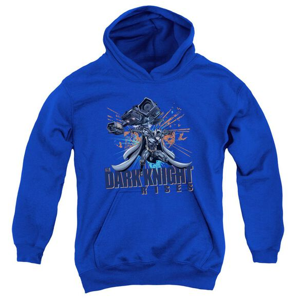 Dark Knight Rises Batwing Youth Pull Over Hoodie