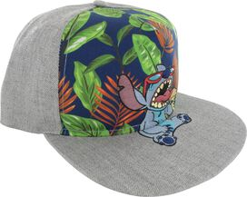 Lilo and Stitch Island Cone Snap Hat