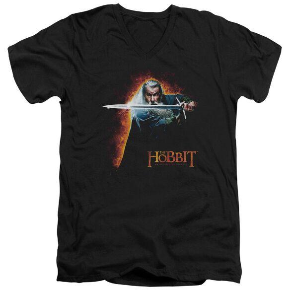 The Hobbit Secret Fire Short Sleeve Adult V Neck T-Shirt