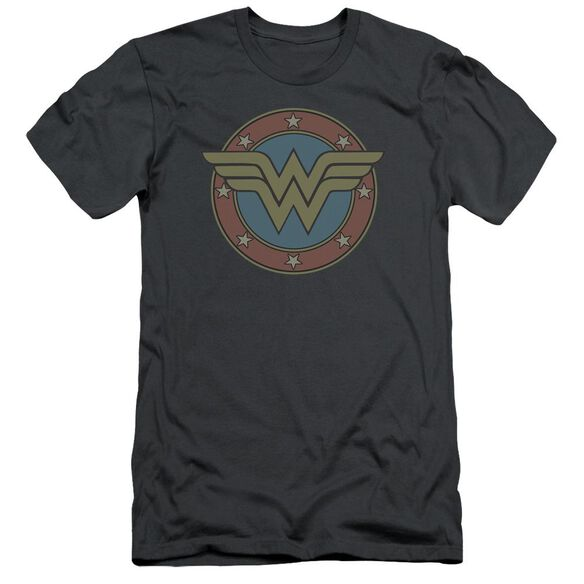Dc Ww Vintage Emblem Short Sleeve Adult T-Shirt