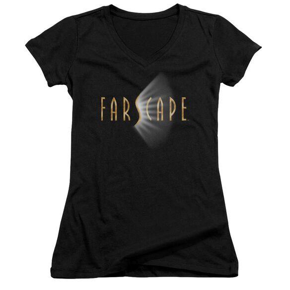 Farscape Logo - Junior V-neck - Black
