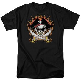 Pirate Skull Short Sleeve Adult T-Shirt