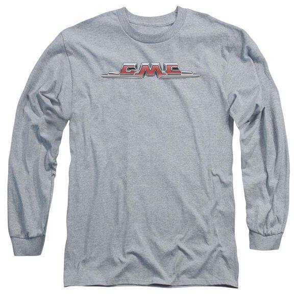 Gmc Chrome Logo Long Sleeve Adult Athletic T-Shirt