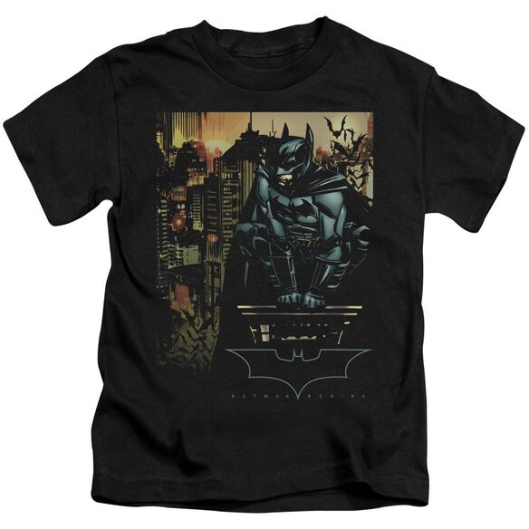 Batman Begins Waiting Short Sleeve Juvenile T-Shirt