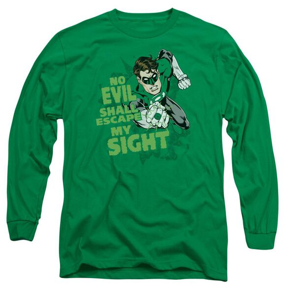 Lantern No Evil Long Sleeve Adult Kelly T-Shirt
