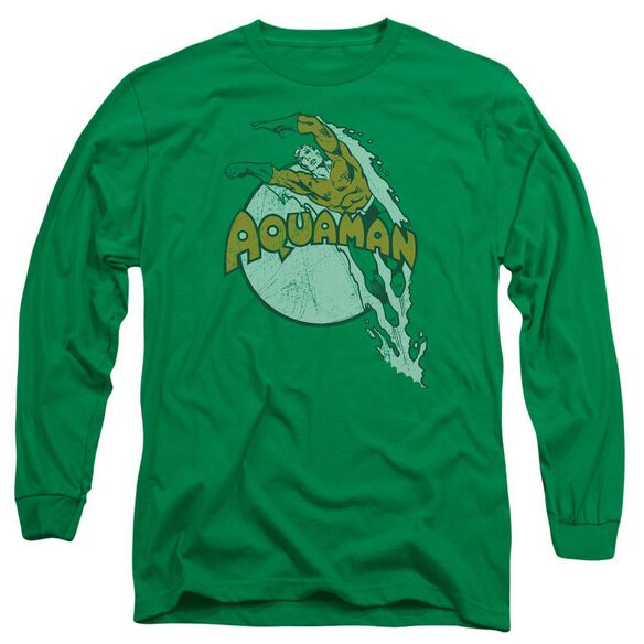 Dc Splash Long Sleeve Adult Kelly T-Shirt