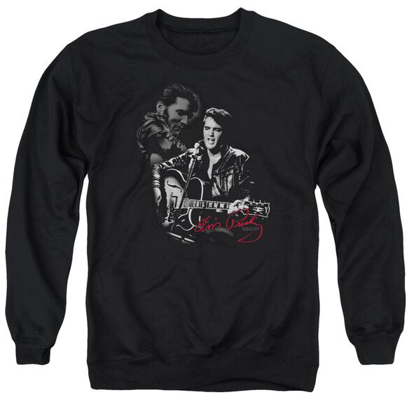 Elvis Show Stopper Adult Crewneck Sweatshirt