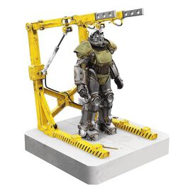 Fallout T-51 Power Armor and Cradle 4-Port Powered USB Hub