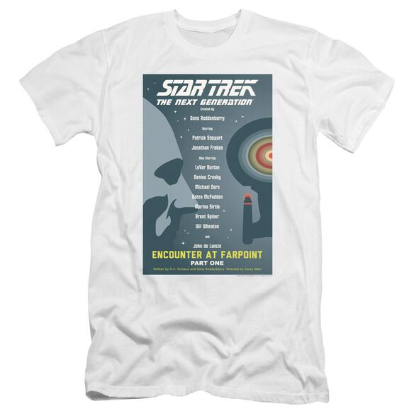 Star Trek Tng Season 1 Episode 1 Premuim Canvas Adult Slim Fit