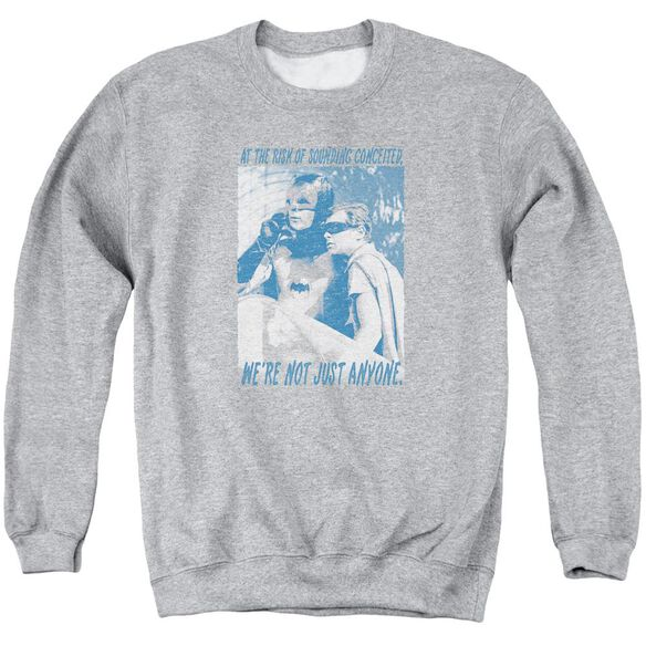 Batman Classic Tv Boogie Nights Adult Crewneck Sweatshirt Athletic