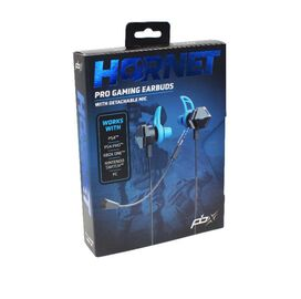 PBX Hornet Pro Gaming Earbuds with Detachable Mic