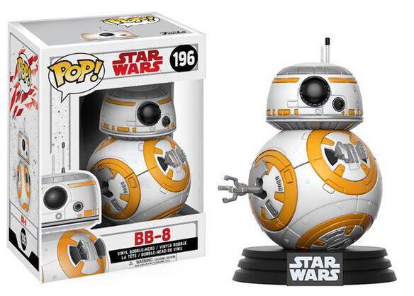 Funko Pop! Star Wars: EP8 - BB-8