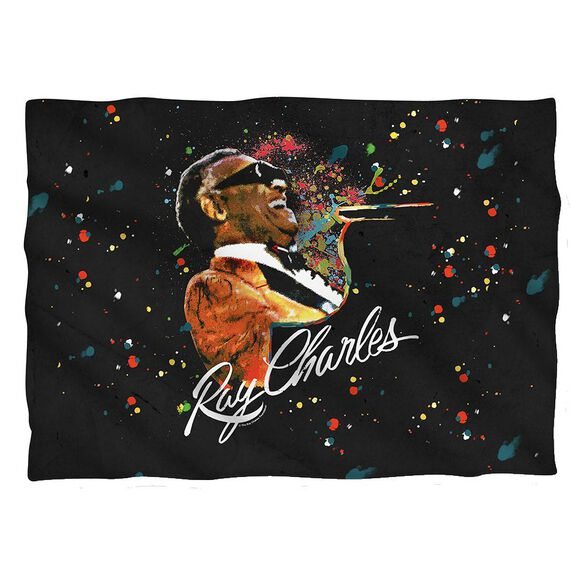 Ray Charles Soul Pillow Case White