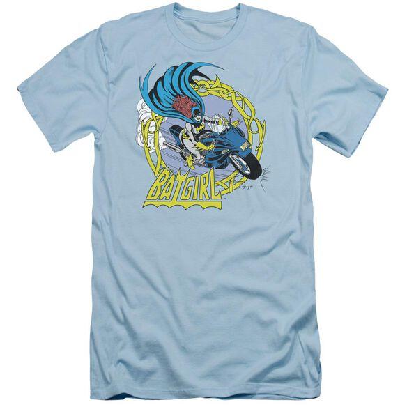 Dc Batgirl Motorcycle Short Sleeve Adult Light T-Shirt