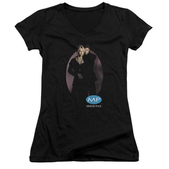 Melrose Place Kiss Junior V Neck T-Shirt