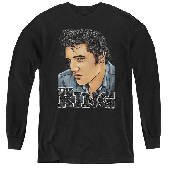 Elvis Presley Graphic King-youth Long