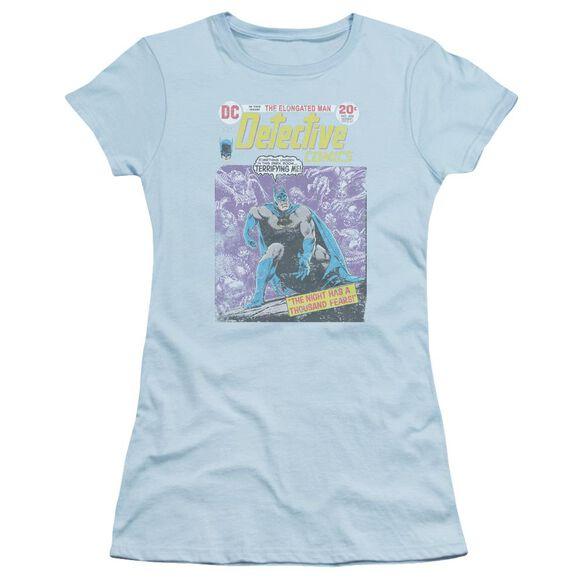 Batman A Thousand Fears Short Sleeve Junior Sheer Light T-Shirt