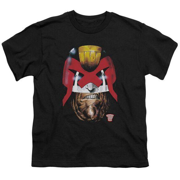 Judge Dredd Dredd's Head Short Sleeve Youth T-Shirt