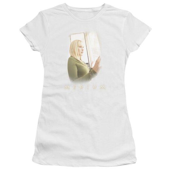Medium Light Short Sleeve Junior Sheer T-Shirt