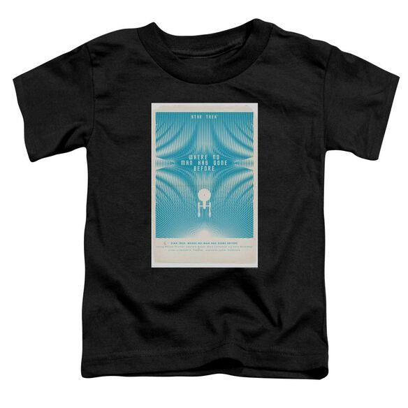 Star Trek Tos Episode 3 Short Sleeve Toddler Tee Black Sm T-Shirt