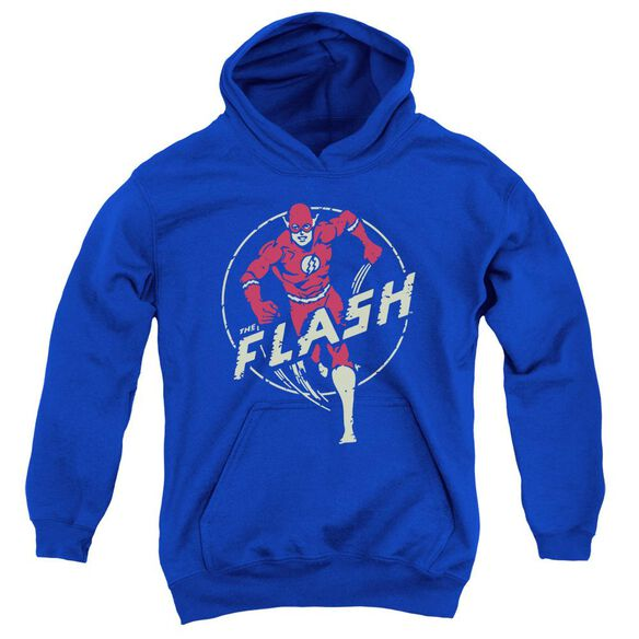 Dc Flash Flash Comics Youth Pull Over Hoodie