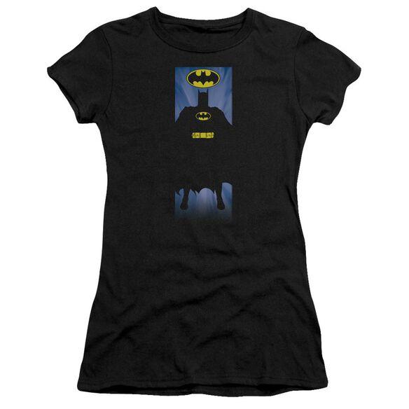 Batman Batman Block Short Sleeve Junior Sheer T-Shirt