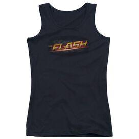 The Flash Logo Juniors Tank Top