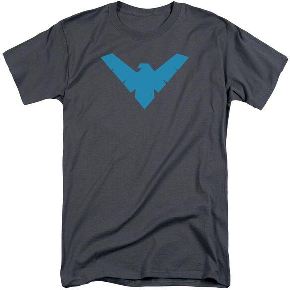 Batman Nightwing Symbol Short Sleeve Adult Tall T-Shirt