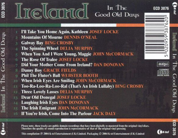 Ireland In The Good