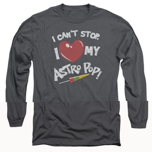 Astro Pop I Heart Long Sleeve Adult T-Shirt