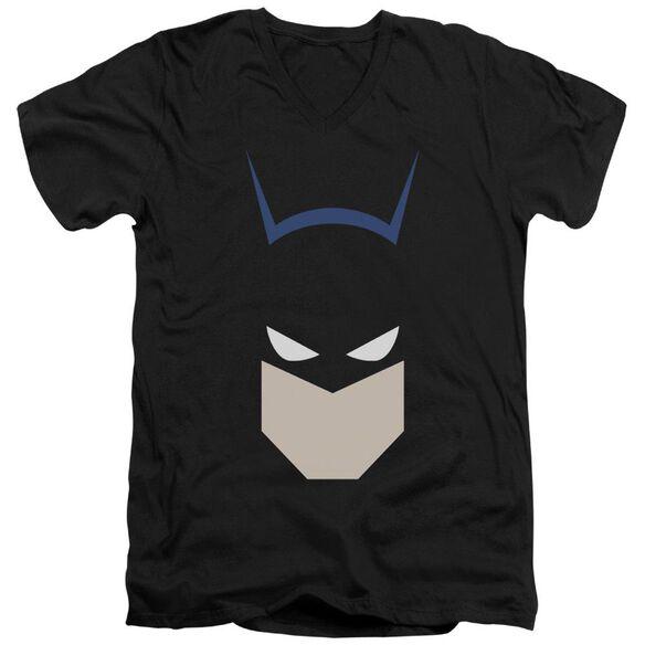 Batman Bat Head Short Sleeve Adult V Neck T-Shirt