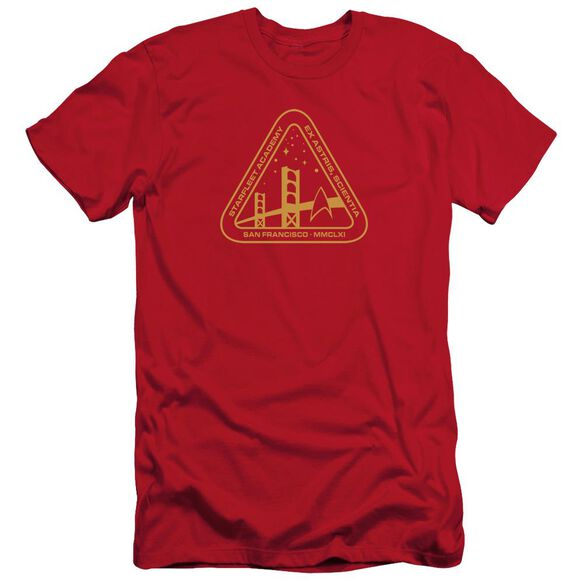 Star Trek Gold Academy Short Sleeve Adult T-Shirt
