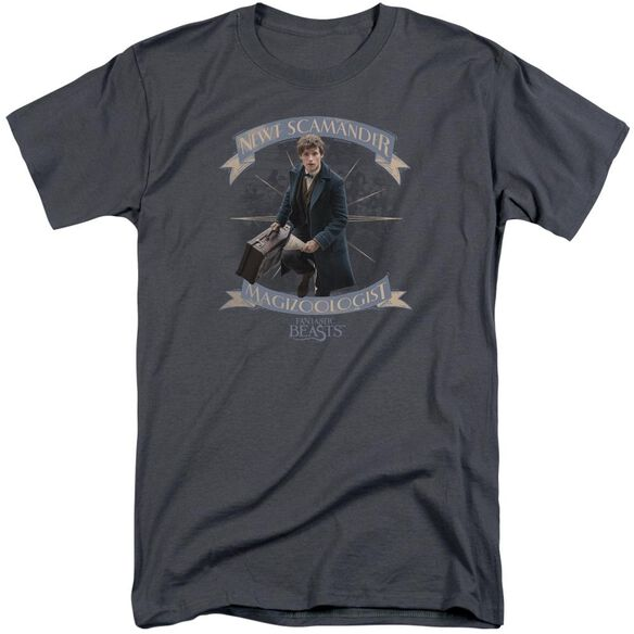 Fantastic Beasts Newt Scamander Short Sleeve Adult Tall T-Shirt