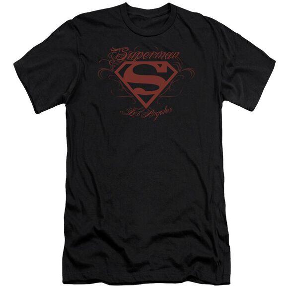 Superman La Premuim Canvas Adult Slim Fit
