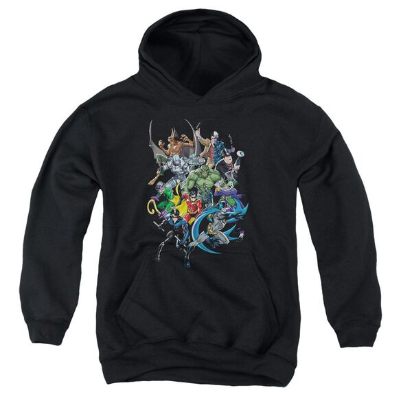 Batman Saints And Psychos Youth Pull Over Hoodie