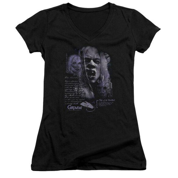 Grimm Lady Hexenbeast Junior V Neck T-Shirt