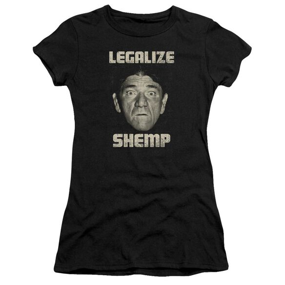 Three Stooges Legalize Shemp Premium Bella Junior Sheer Jersey